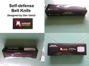 Self Defense Belt Knife box